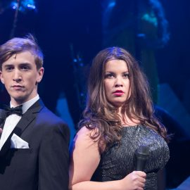 Callum Howells and Francesca McKean in Prodigy