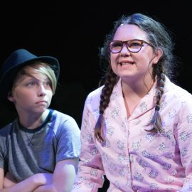 Luke Rozanksi and Hannah Irvine in Prodigy